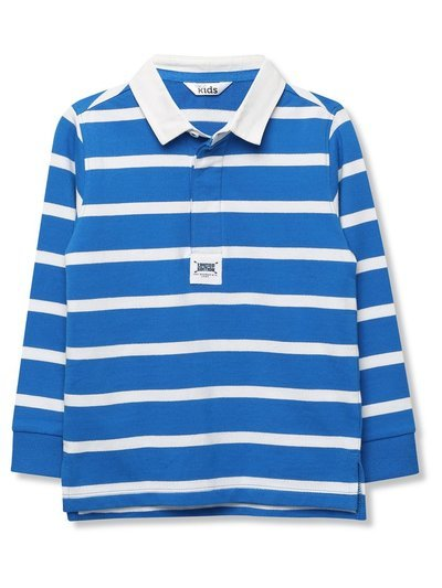 Striped rugby shirt (9mths-5yrs)