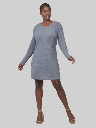 Izabel Curve long sleeve knitted dress