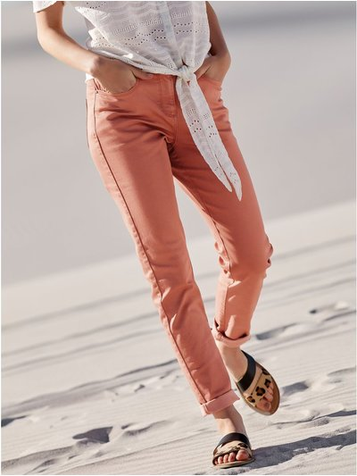 Twill trousers