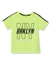 Neon NY slogan t-shirt (3 - 12 yrs)