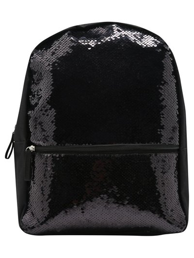 Two way sequin backpack