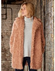 Sonder Studio faux fur teddy coat