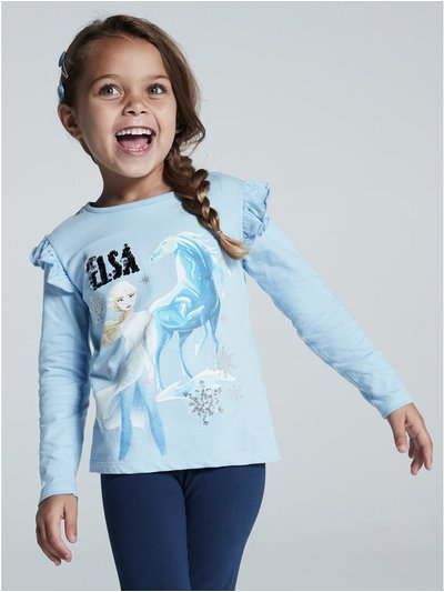 Disney Frozen 2 two way sequin t-shirt (2 - 8 yrs)