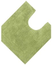 Green cotton pedestal mat