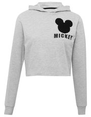Disney Mickey cropped hooded sweater