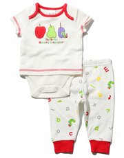 The Very Hungry Caterpillar bodysuit and joggers