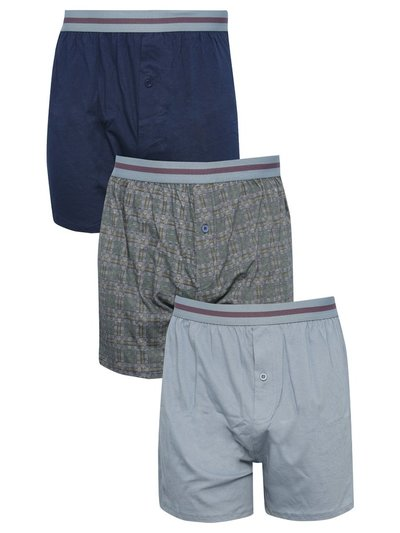 Check boxers three pack