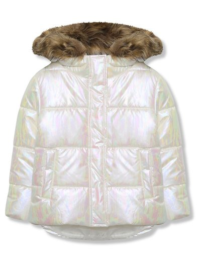Iridescent padded jacket (3 - 10 yrs)