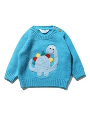Dinosaur knitted jumper (Newborn - 18 mths)