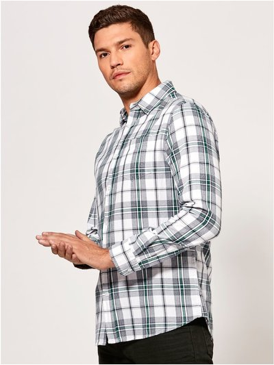 Grindle check long sleeve shirt