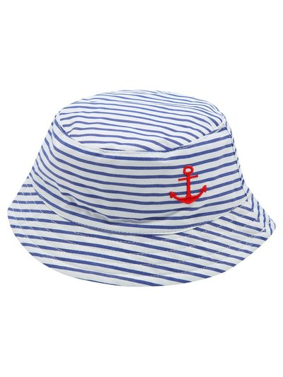Stripe sailor sun hat