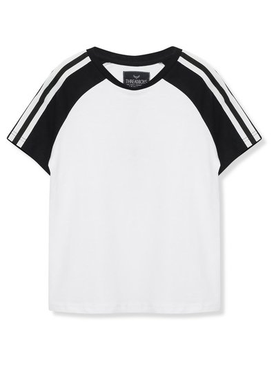 Threadboys stripe sleeve t-shirt (5 - 13 yrs)