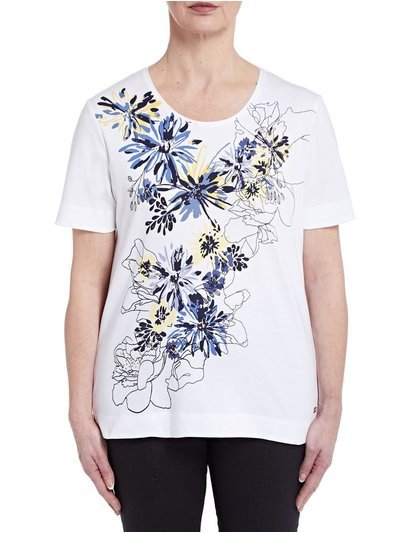TIGI flower print t-shirt