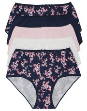 Floral full briefs multipack