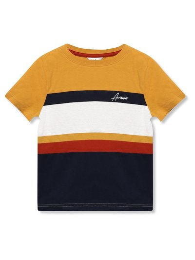 Panel striped t-shirt (3yrs-12yrs)