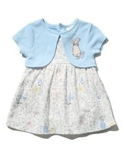 Peter Rabbit mock cardigan dress