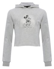 Teens' Mickey Mouse cropped hoody