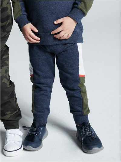 Colour block joggers (9mths-5yrs)