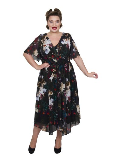 Scarlett and Jo plus Juliette hanky hem dress