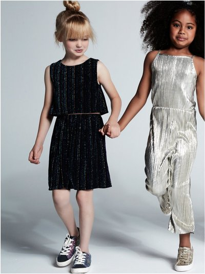 Rainbow glitter dress (3 - 12 yrs)
