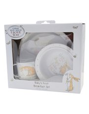 Guess How Much I Love You baby breakfast set