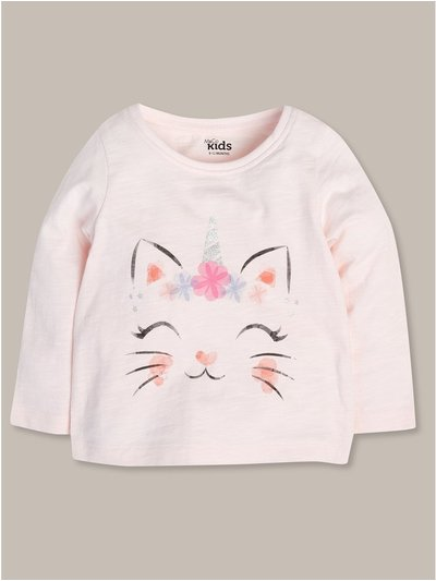 Caticorn top (9mths-5yrs)