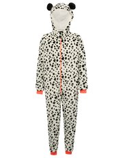 Teen's animal print onesie