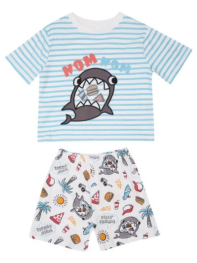 Shark pyjamas (12mths-6yrs)