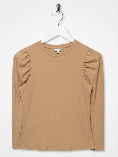 Sonder Studio puff shoulder top