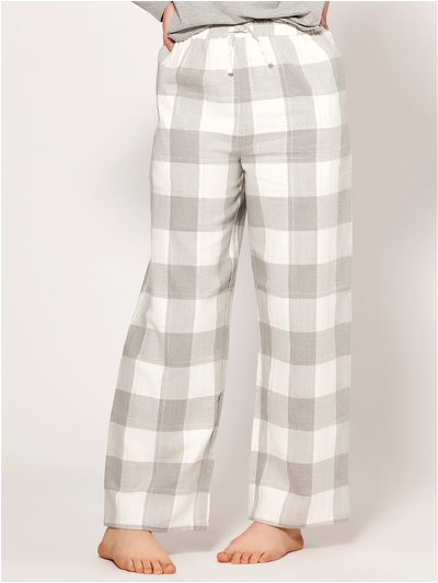 Teen check pyjama trousers