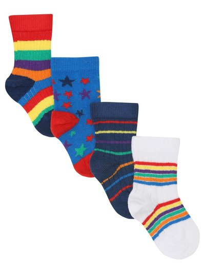 Colourful socks four pack