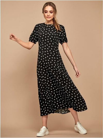 Sonder studio ditsy print midi dress