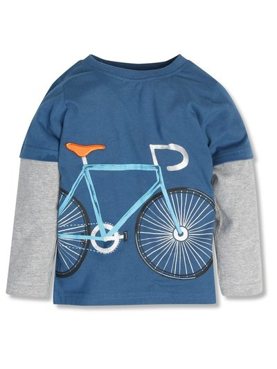 Long sleeve bike t-shirt (3-12yrs)