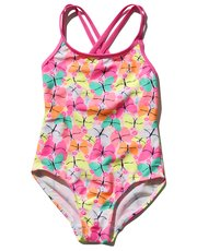 Butterfly swimsuit (3 - 10 yrs)