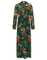 VILA tropical floral maxi dress
