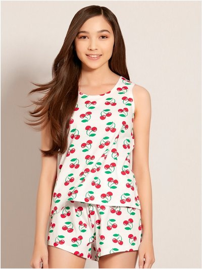 Teens' cherry pyjamas