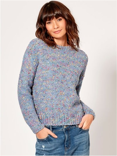 Rainbow knit jumper