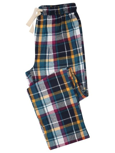 Bright check lounge trousers
