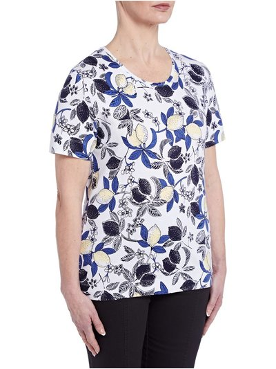 TIGI lemon print t-shirt