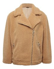 Aviator teddy jacket