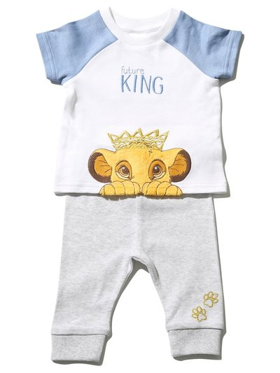 Disney Lion King top and joggers set (Newborn-2yrs)