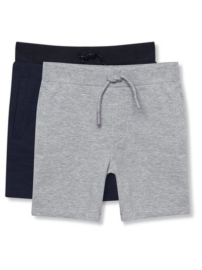 Jersey shorts two pack (9mths-5yrs)