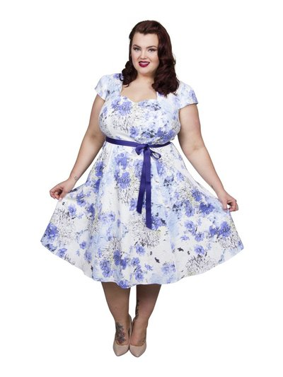 Scarlett and Jo plus sweetheart dress