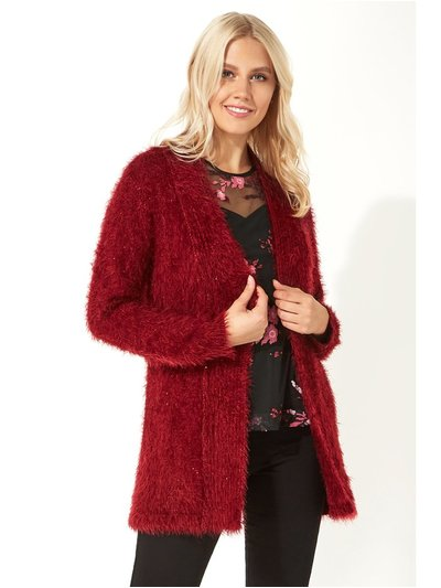 Roman Originals fluffy sequin cardigan