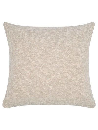 Spot jacquard cushion