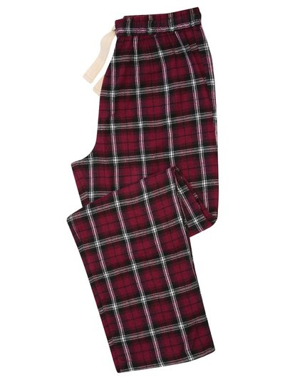 Tartan check lounge trousers