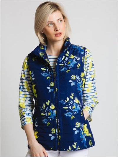 Jessica Graaf watercolour quilted gilet