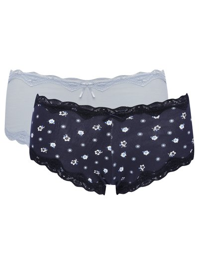 Floral boxer briefs two pack