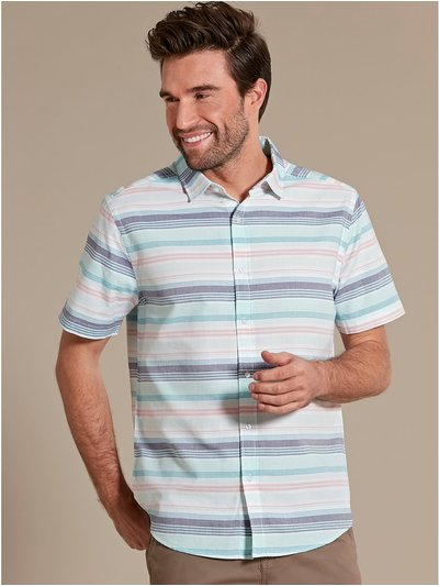 Bright oxford stripe shirt