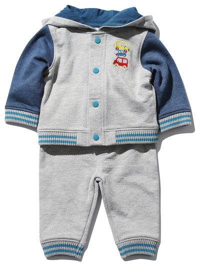 Car top joggers and jacket set (0 mths - 4 yrs)